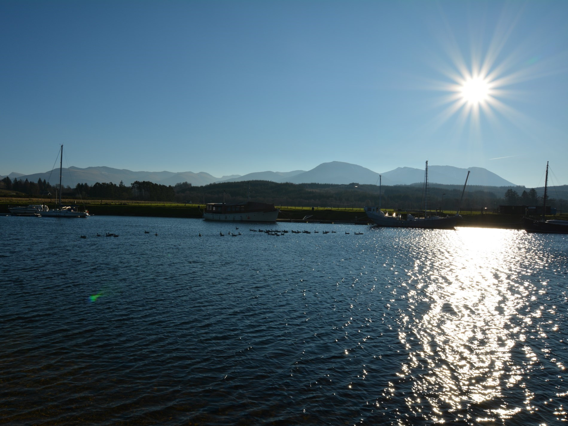 Caledonian Canal close by