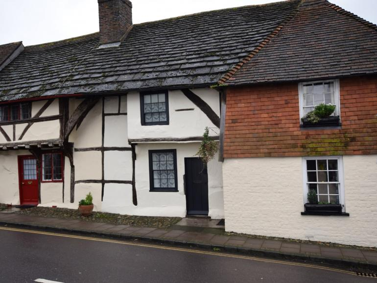 Step inside this pretty Grade II listed cottage
