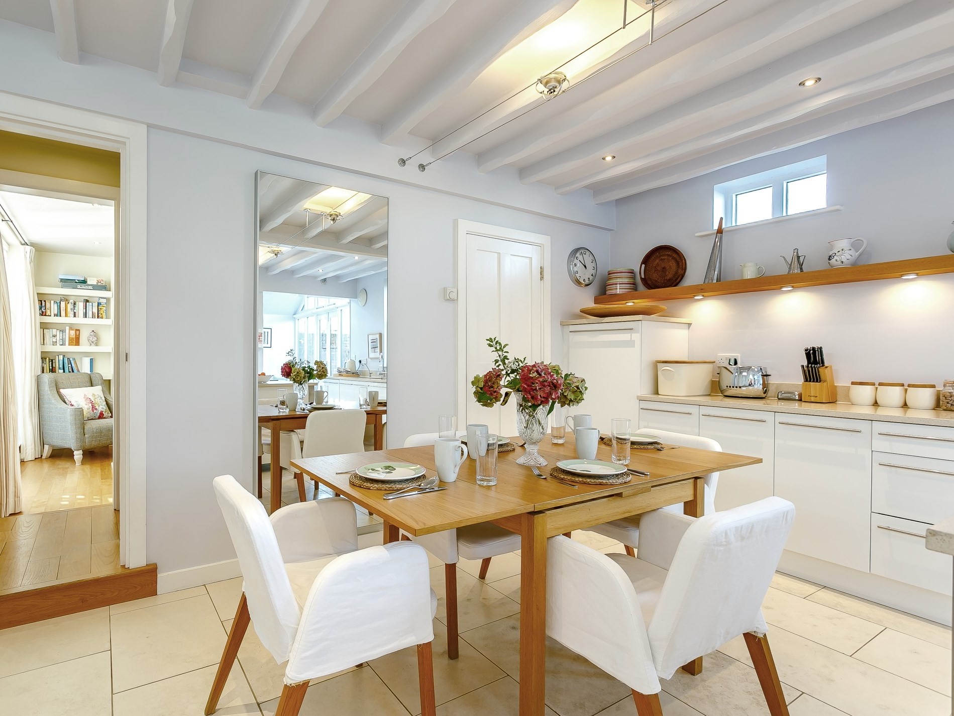 Enjoy family meals in the spacious kitchen/diner