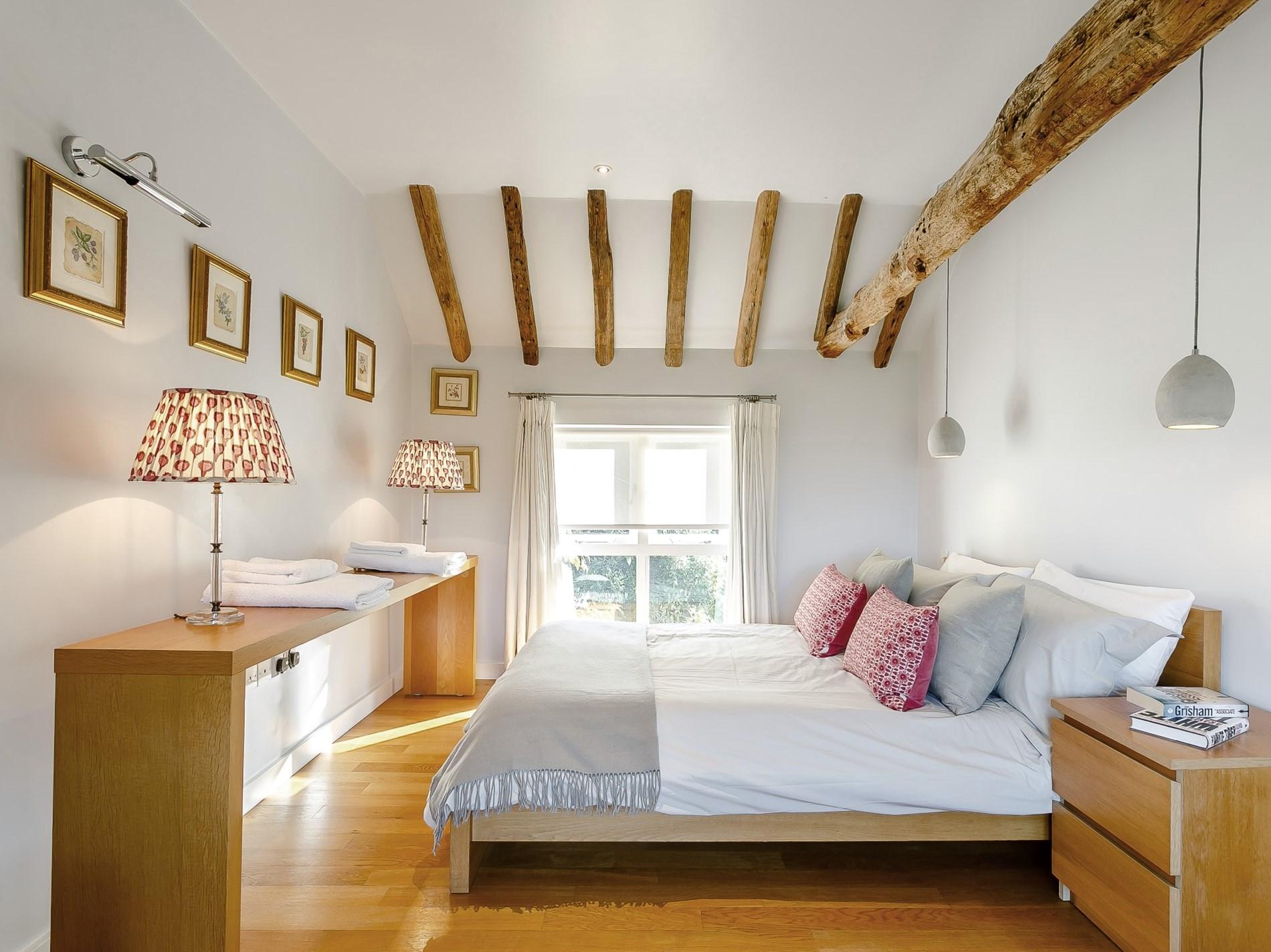 Beautifully furnished bedroom with en-suite bathroom