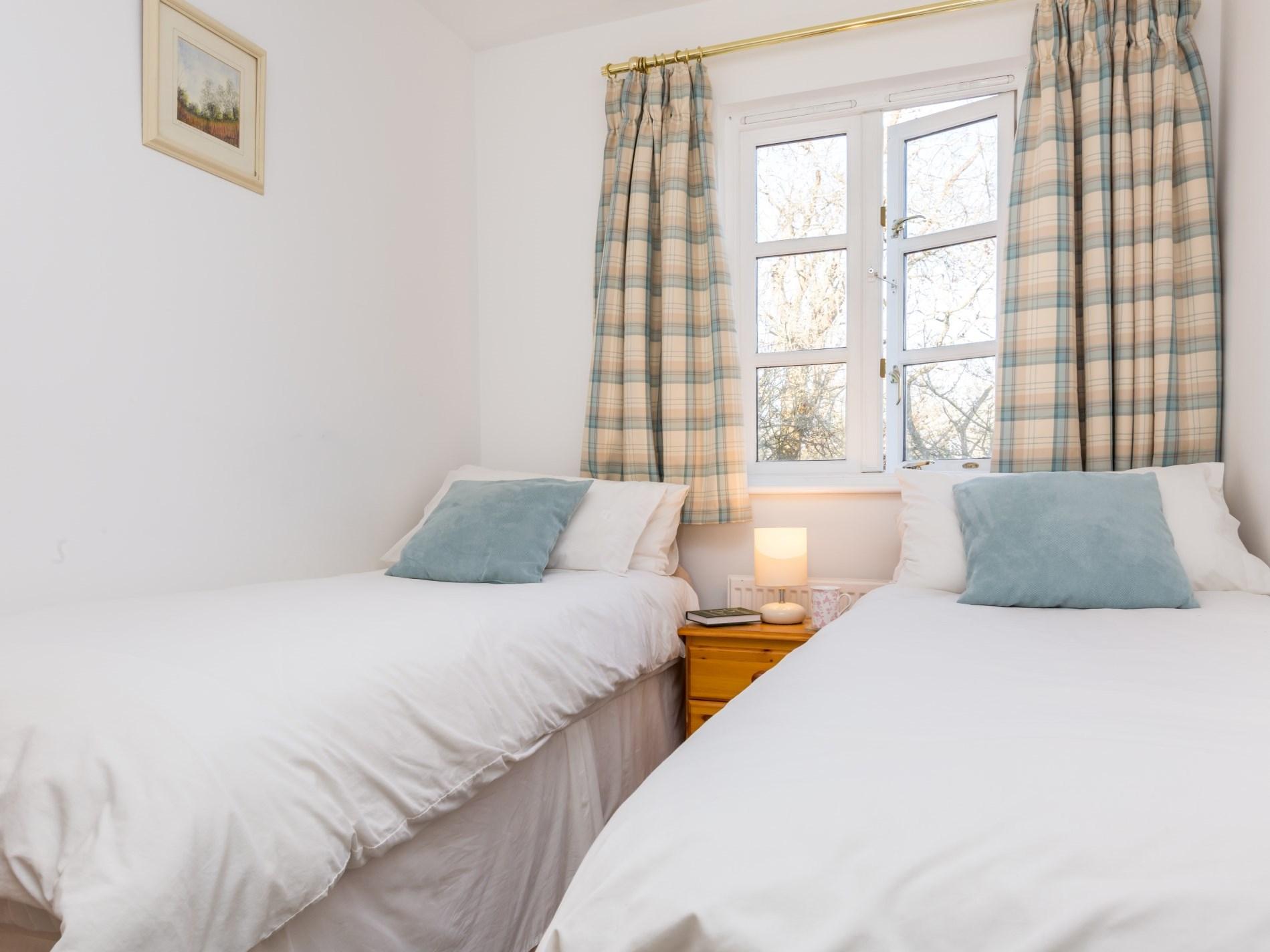 A twin room