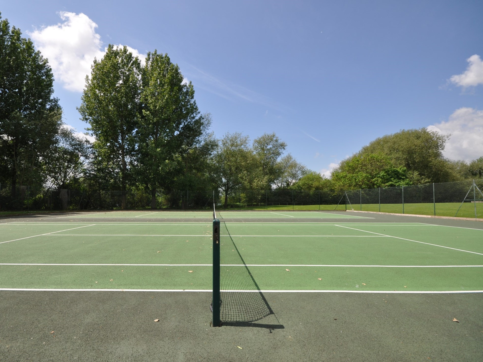 It's time for tennis