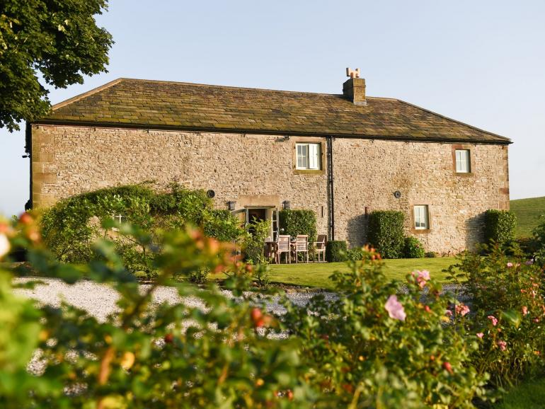 A spacious and stylish converted barn