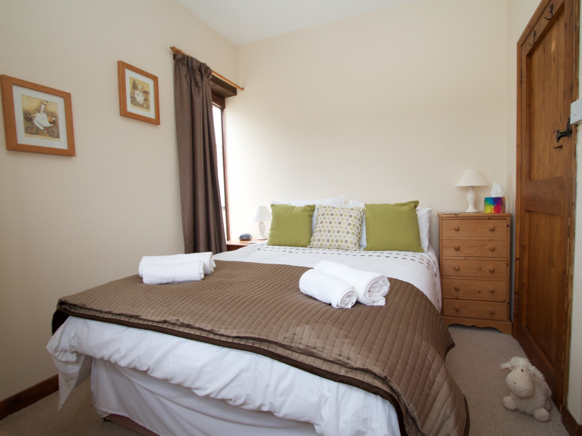 A further double bedroom situated on the first floor