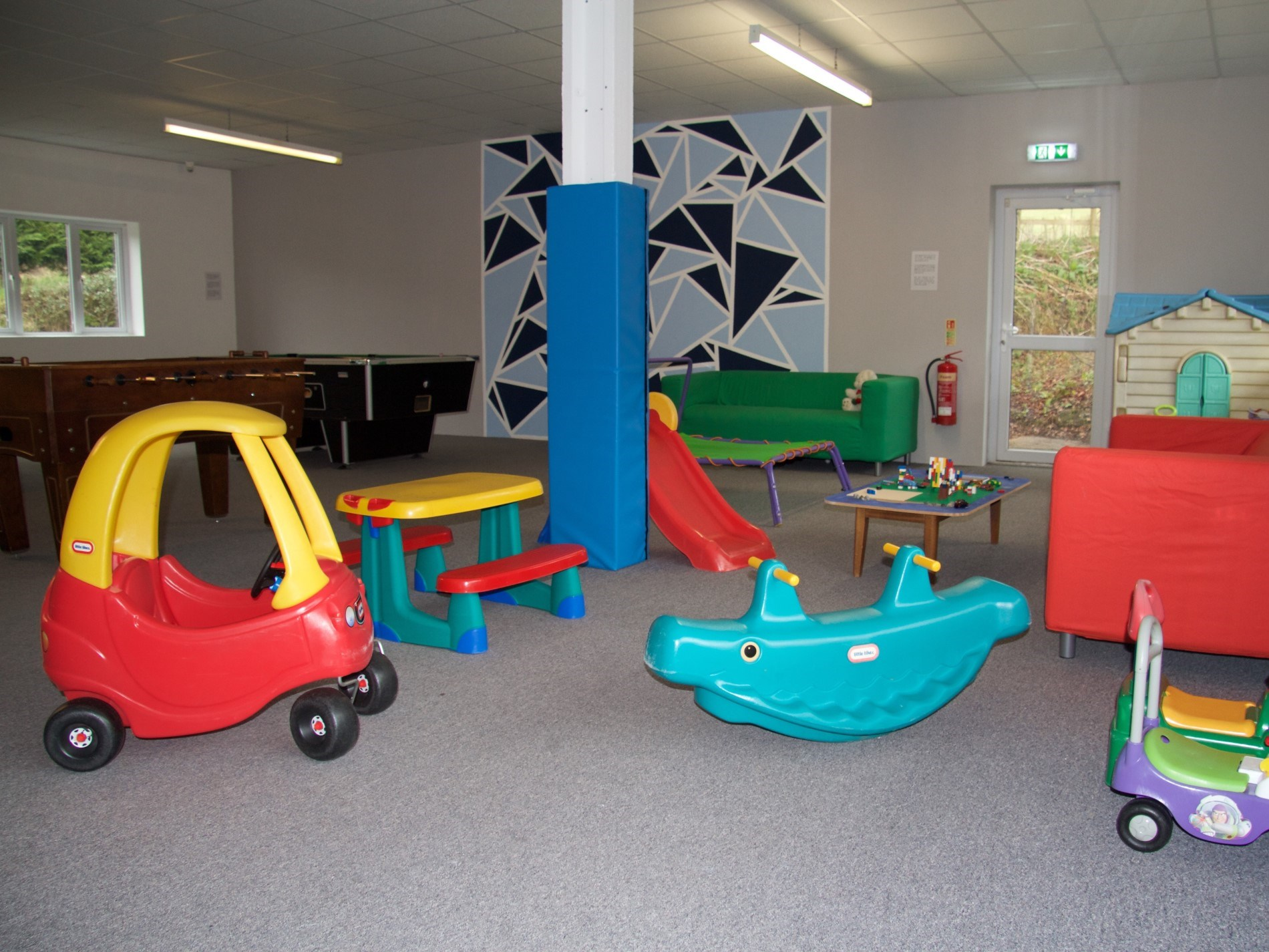 Shared indoor play area