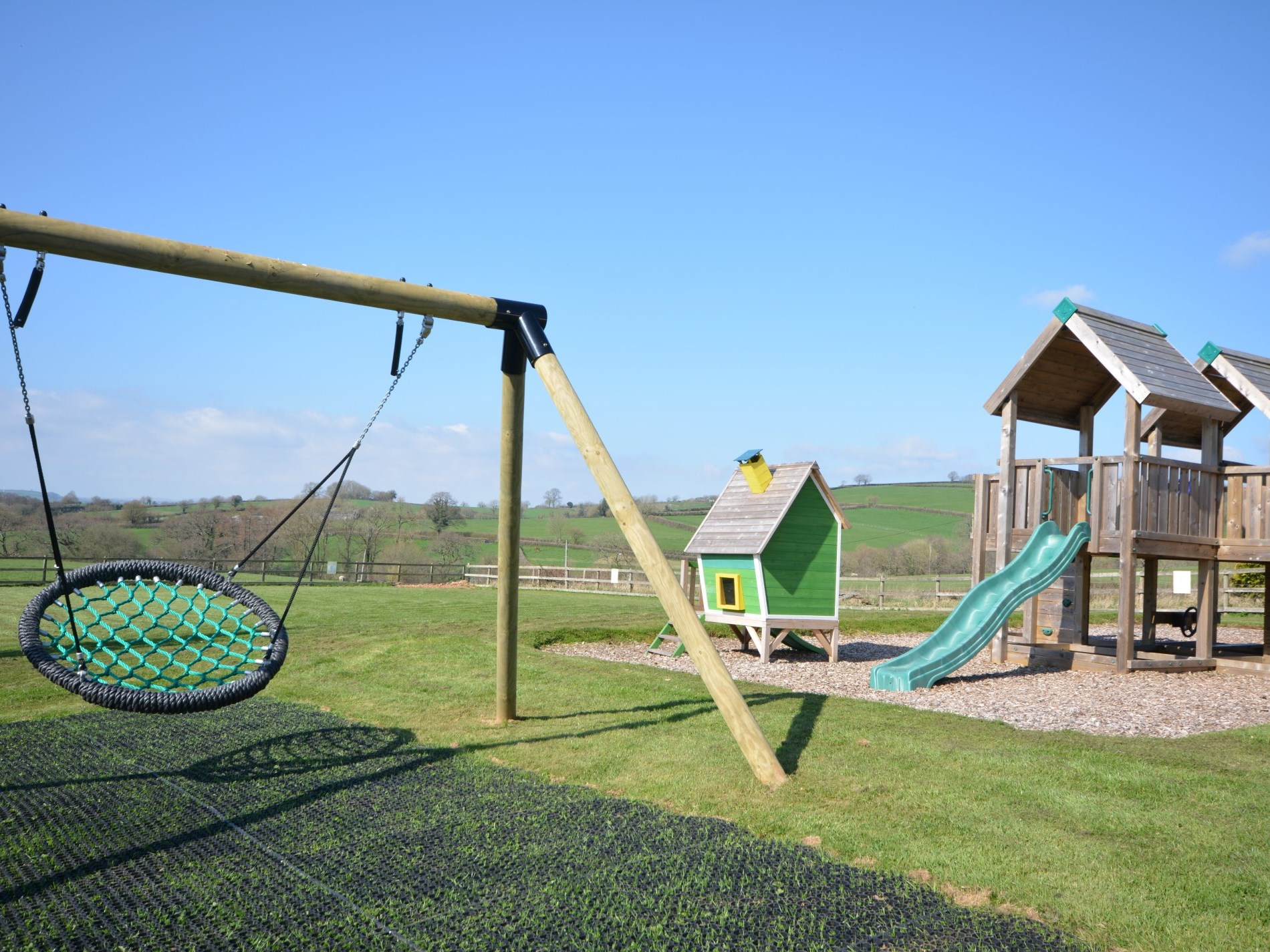 Shared outdoor play area