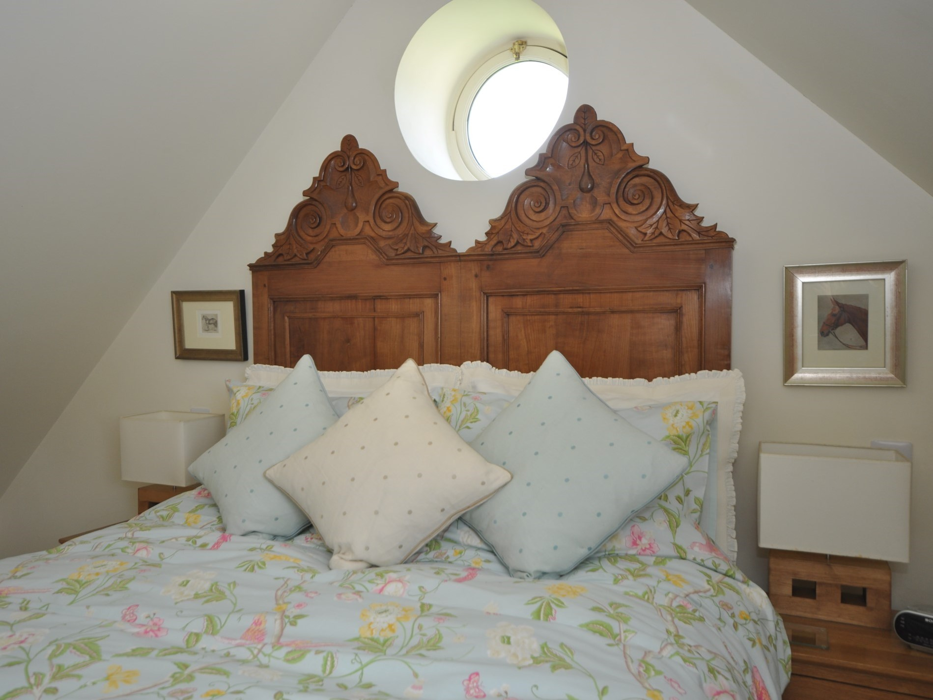 French antique bed