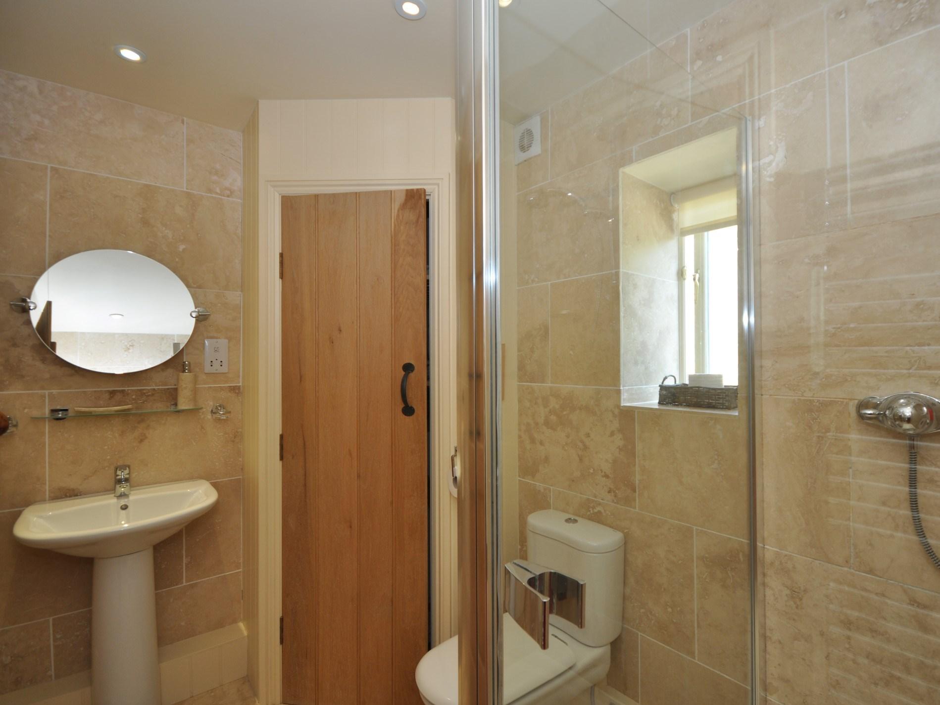 A ground floor shower room
