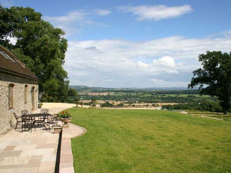Stunning views from the property