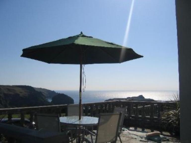 Sun Terrace with stunning sea views
