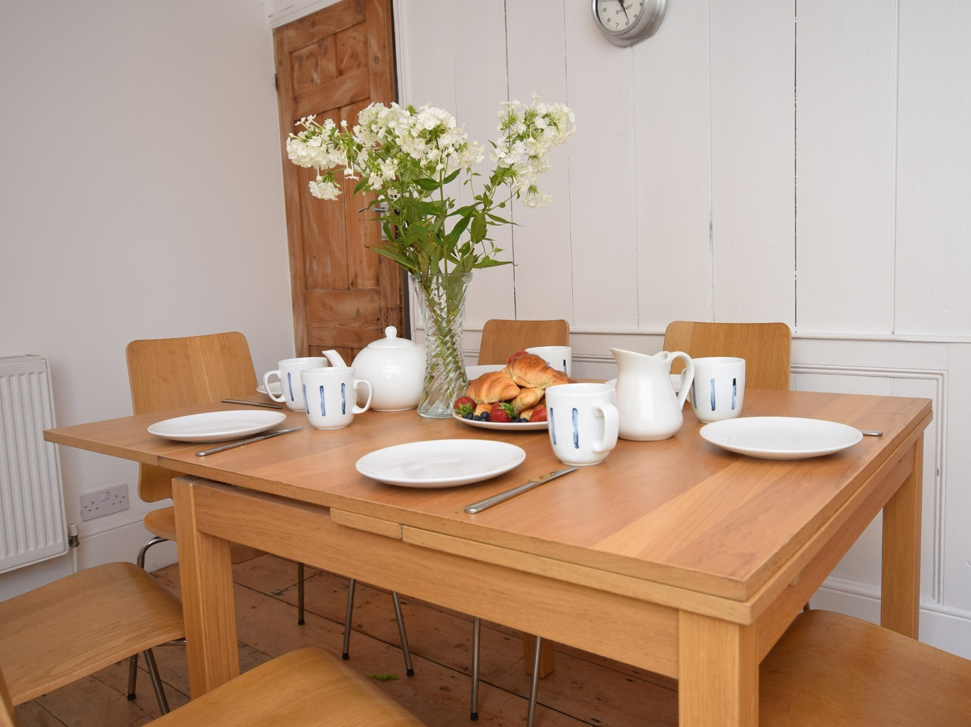 Large dining table to accommodate all the family