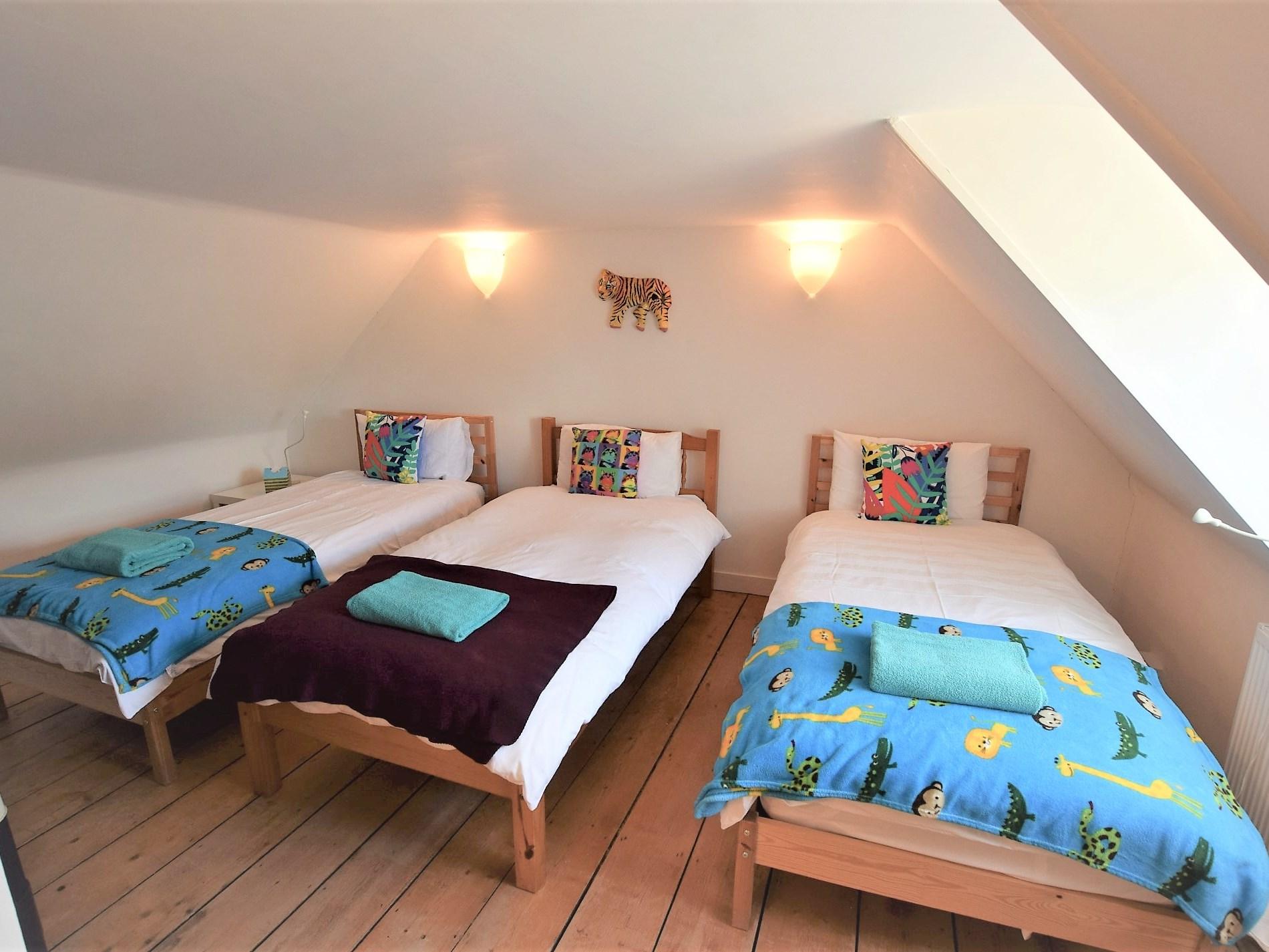 Childrens loft room