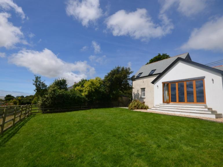 Stunning converted chapel with estuary views