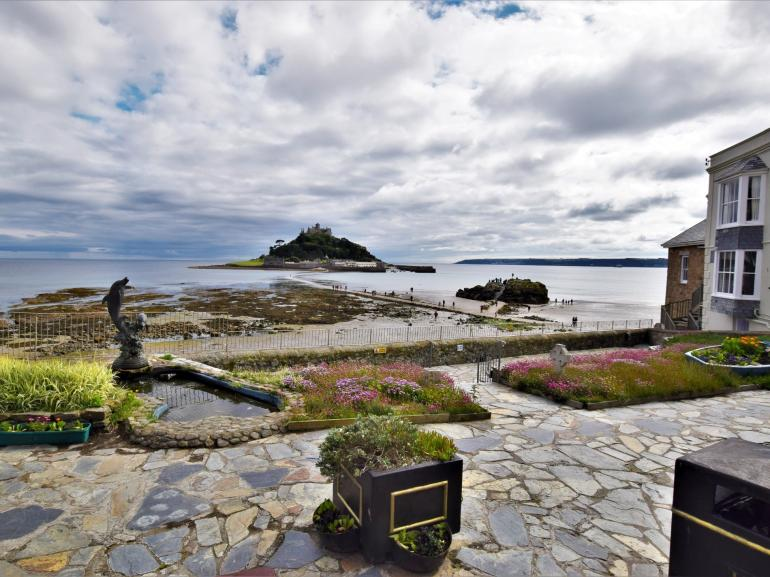 This beautiful village has the iconic St Michael's Mount right on the door step