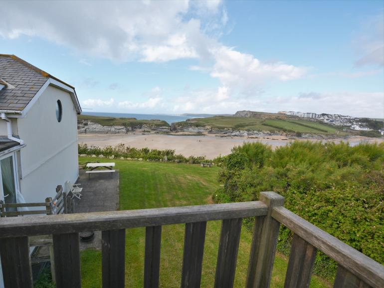 Enjoy coastal living just yards from Porth beach