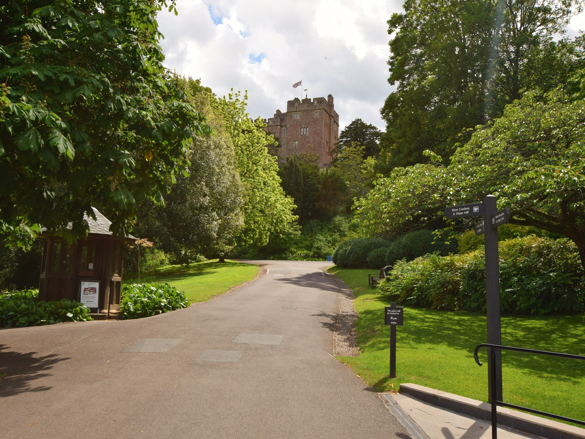 Visit nearby Dunster Castle