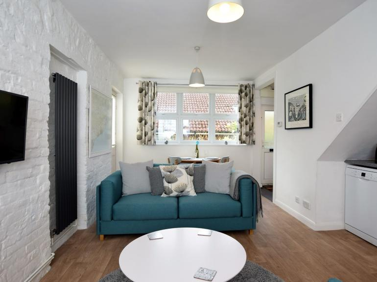 A light and airy property throughout