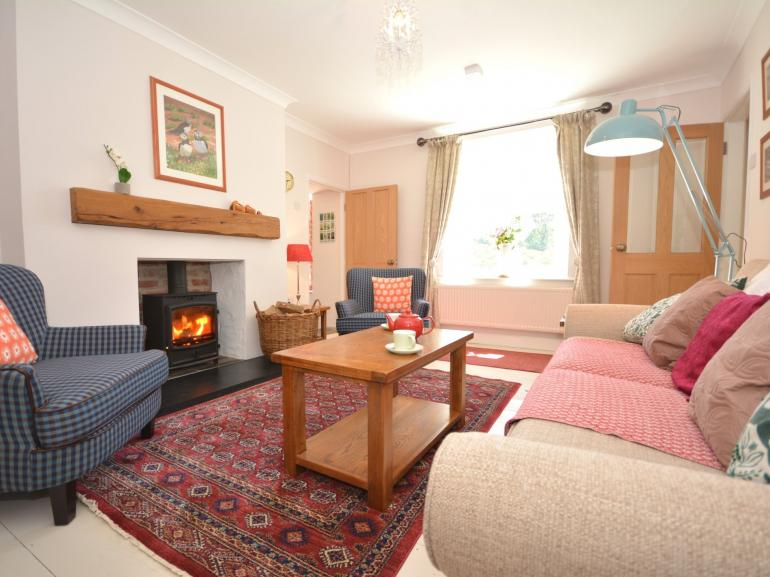 A truly delightful cottage with a warming wood burner