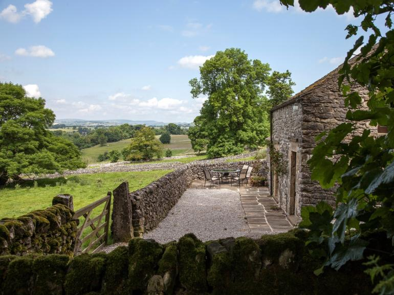 Stunning valley views from the cottage