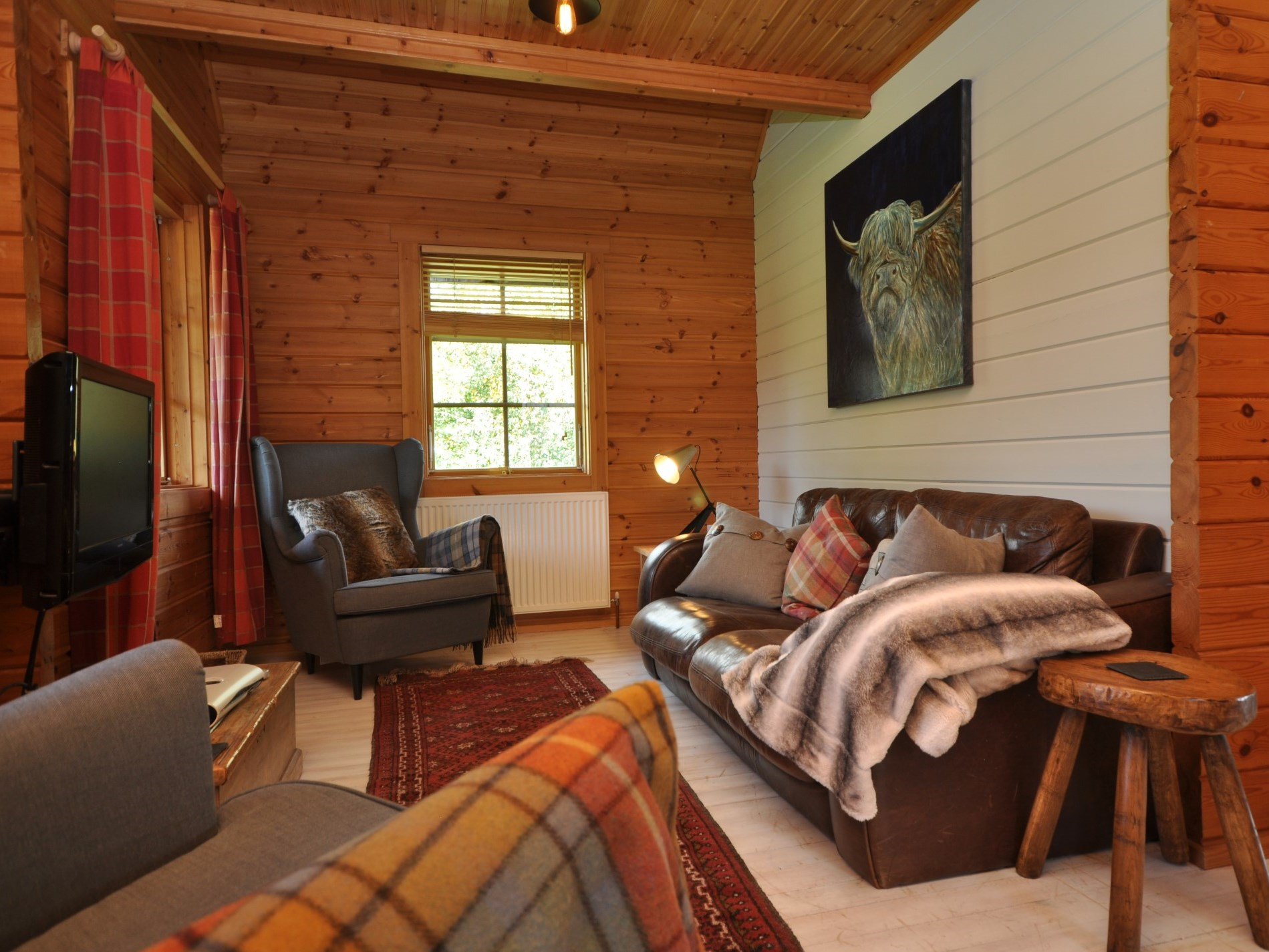 Relax in style in this cosy lounge
