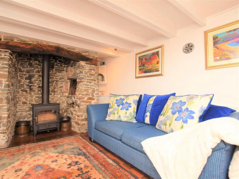 Simply charming with a wood burner