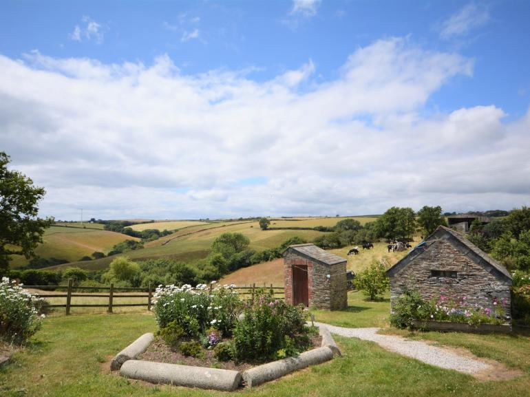 Take in the rolling countryside views