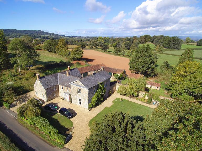 Stunning detached period residence in rural setting