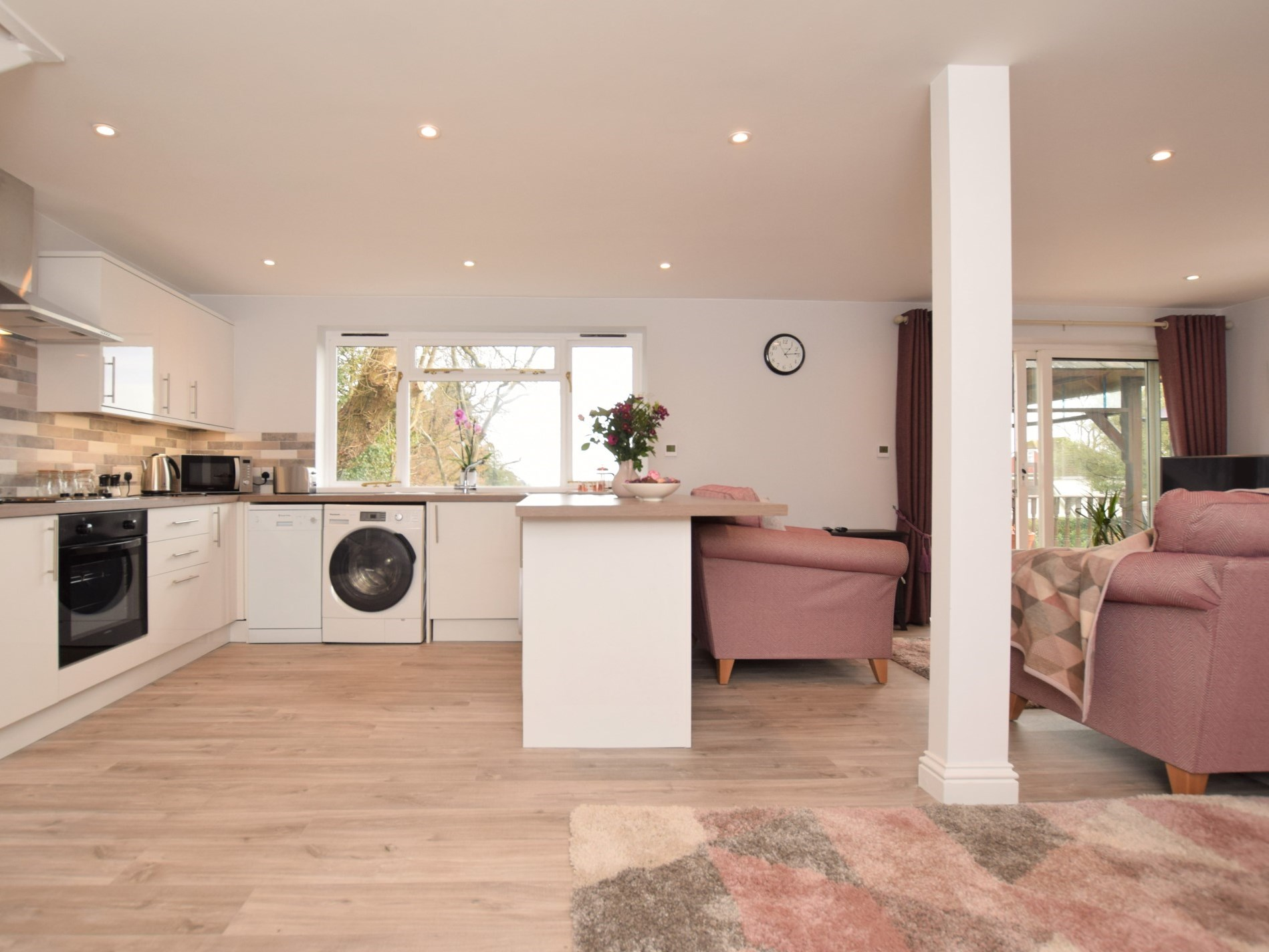 The beautiful open-plan lounge/kitchen/diner