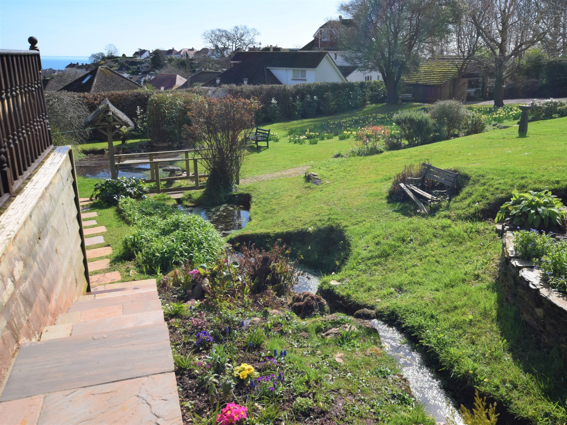 Situated within the owners well maintained grounds