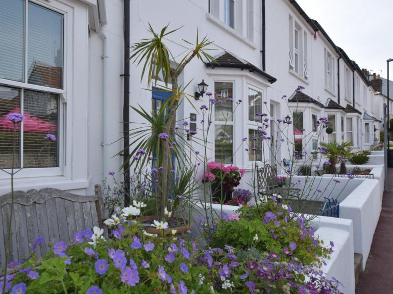 Set in a row of pretty terraced cottages