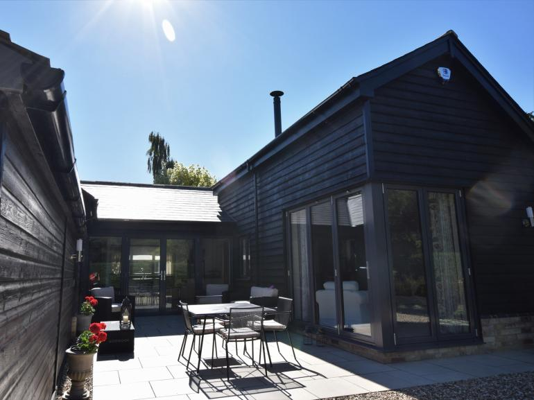 A warm welcome awaits at this Cambridgeshire home
