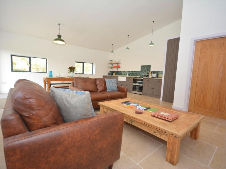 Open-plan living and dining area ideal for family get togethers
