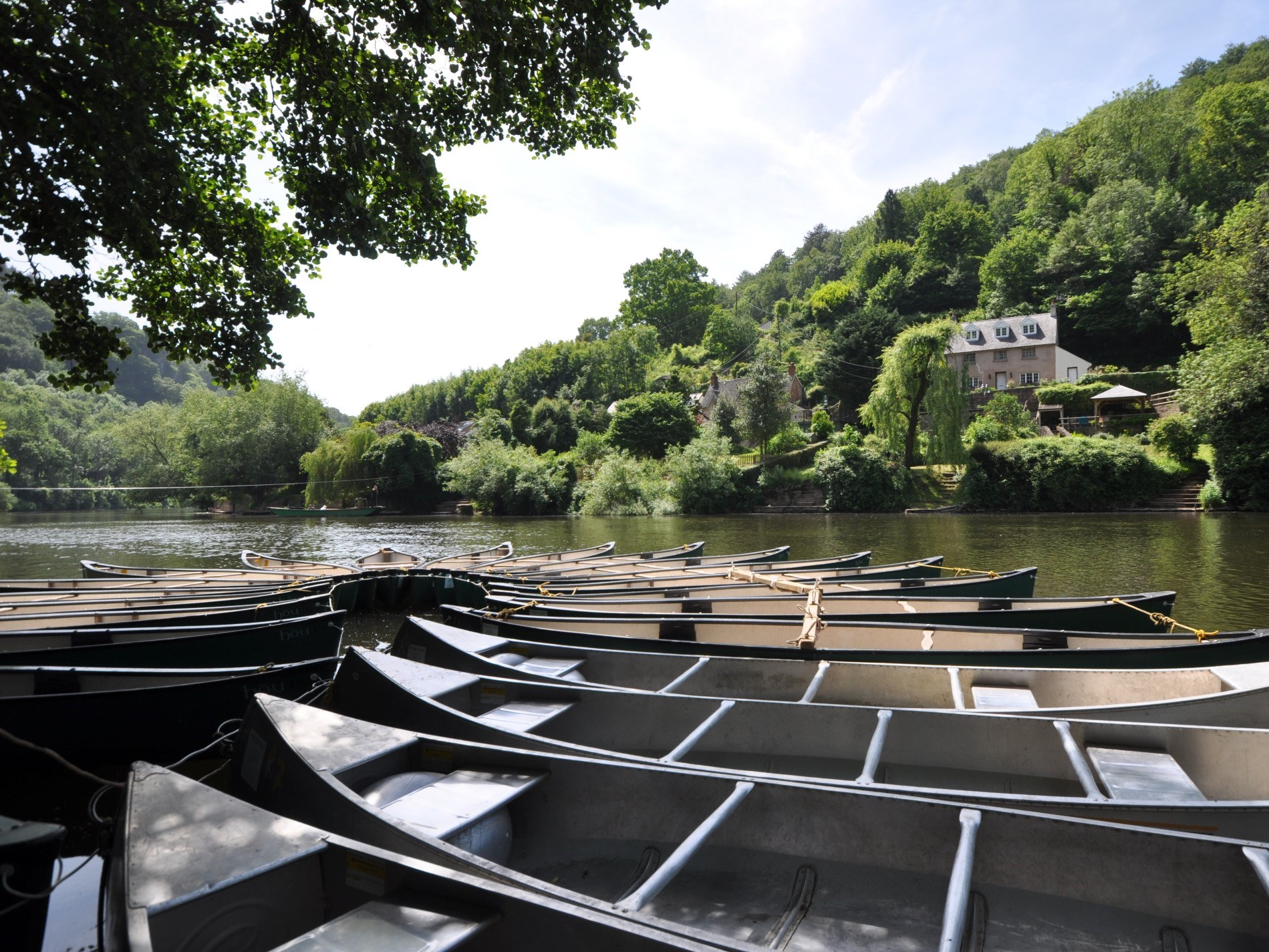 Why not enjoy a day on the River Wye