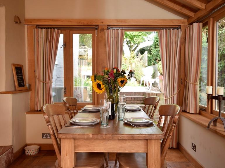 Enjoy relaxed family meals