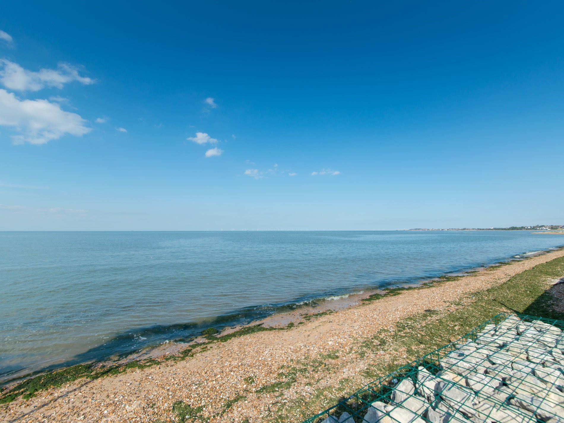 Walk along the beach to Whitstable