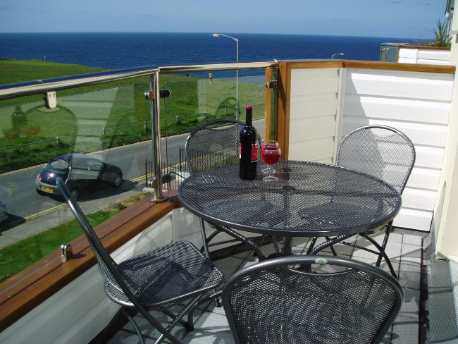 View from the balcony accessed from the living area