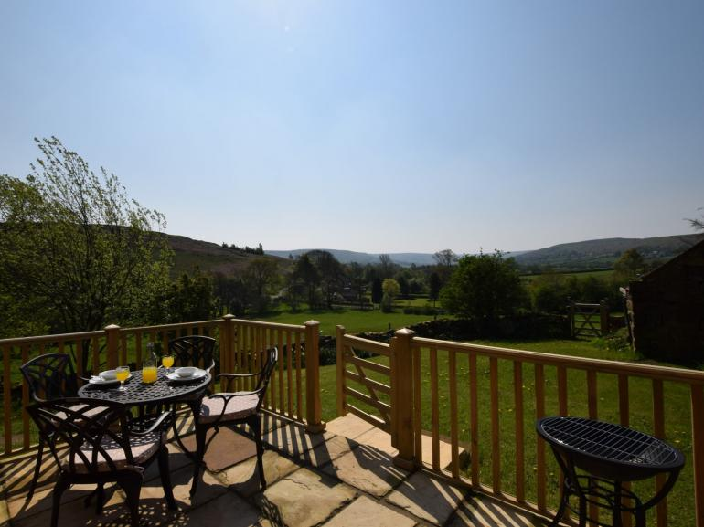 A vista of rolling countryside to enjoy