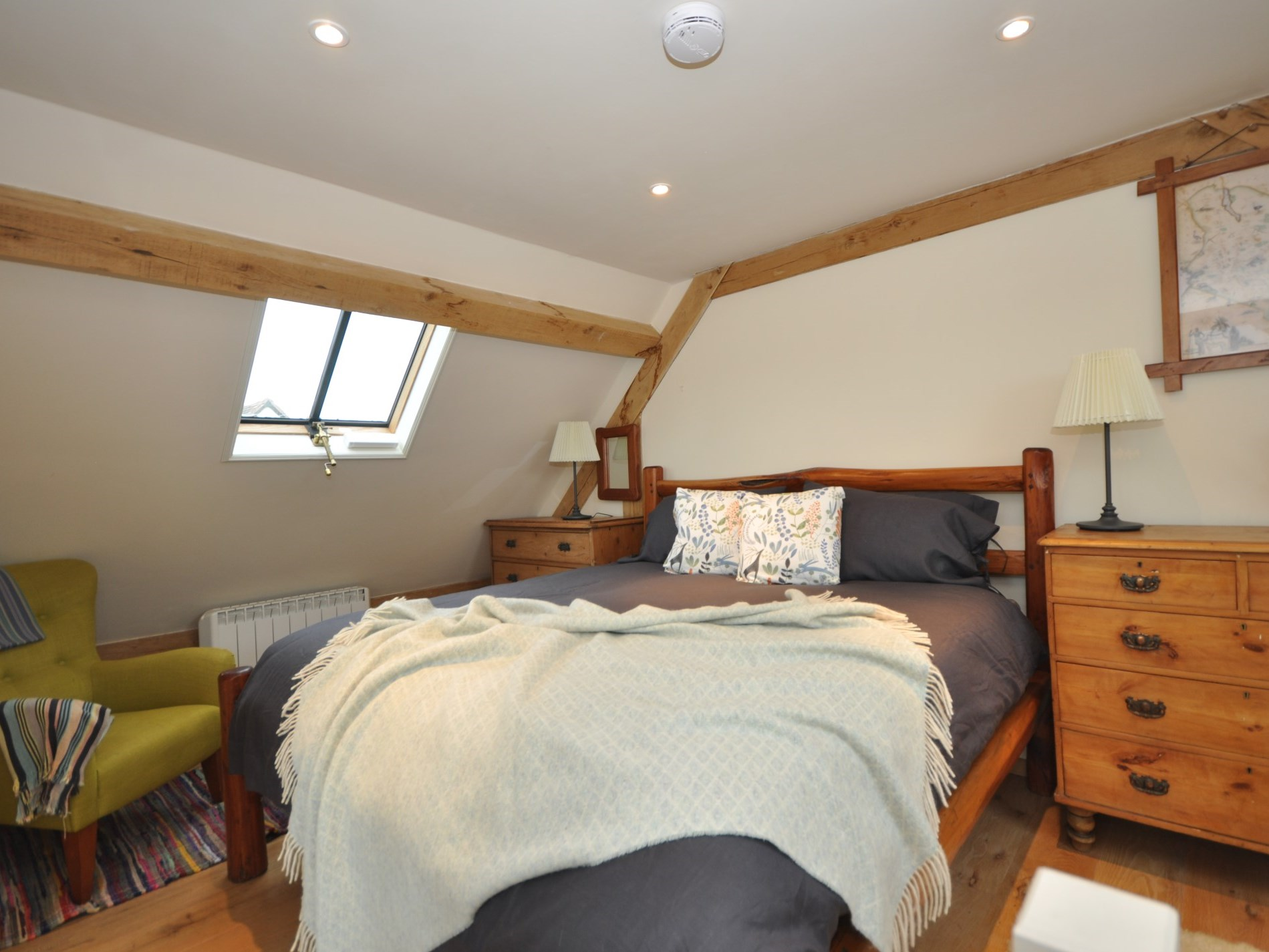 Have a great nights sleep in the king-size bedroom