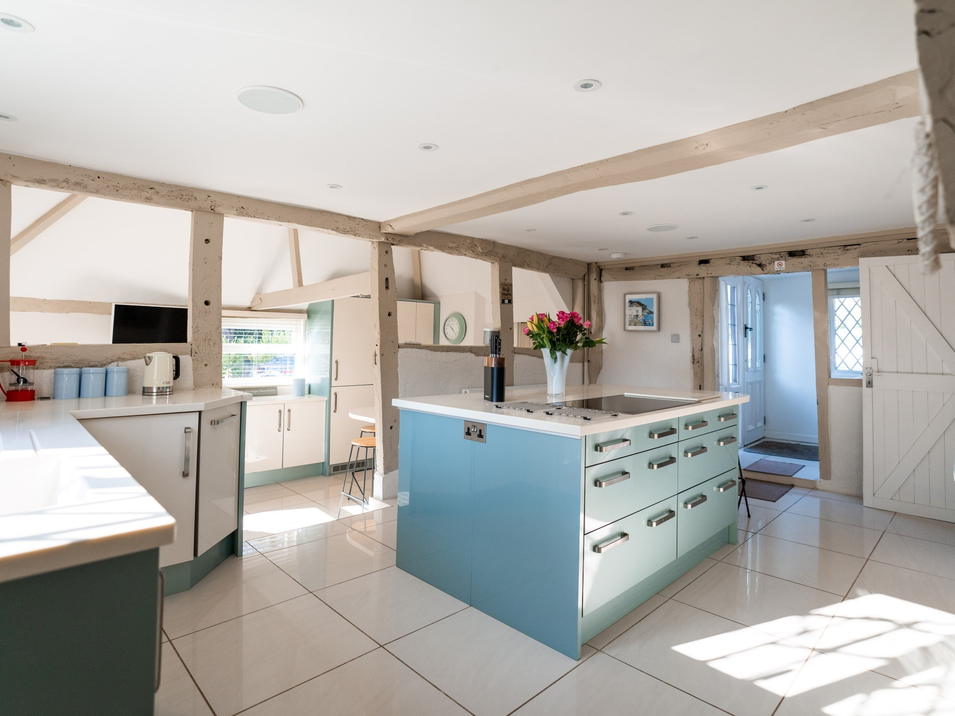Plenty of space to cook a family feast