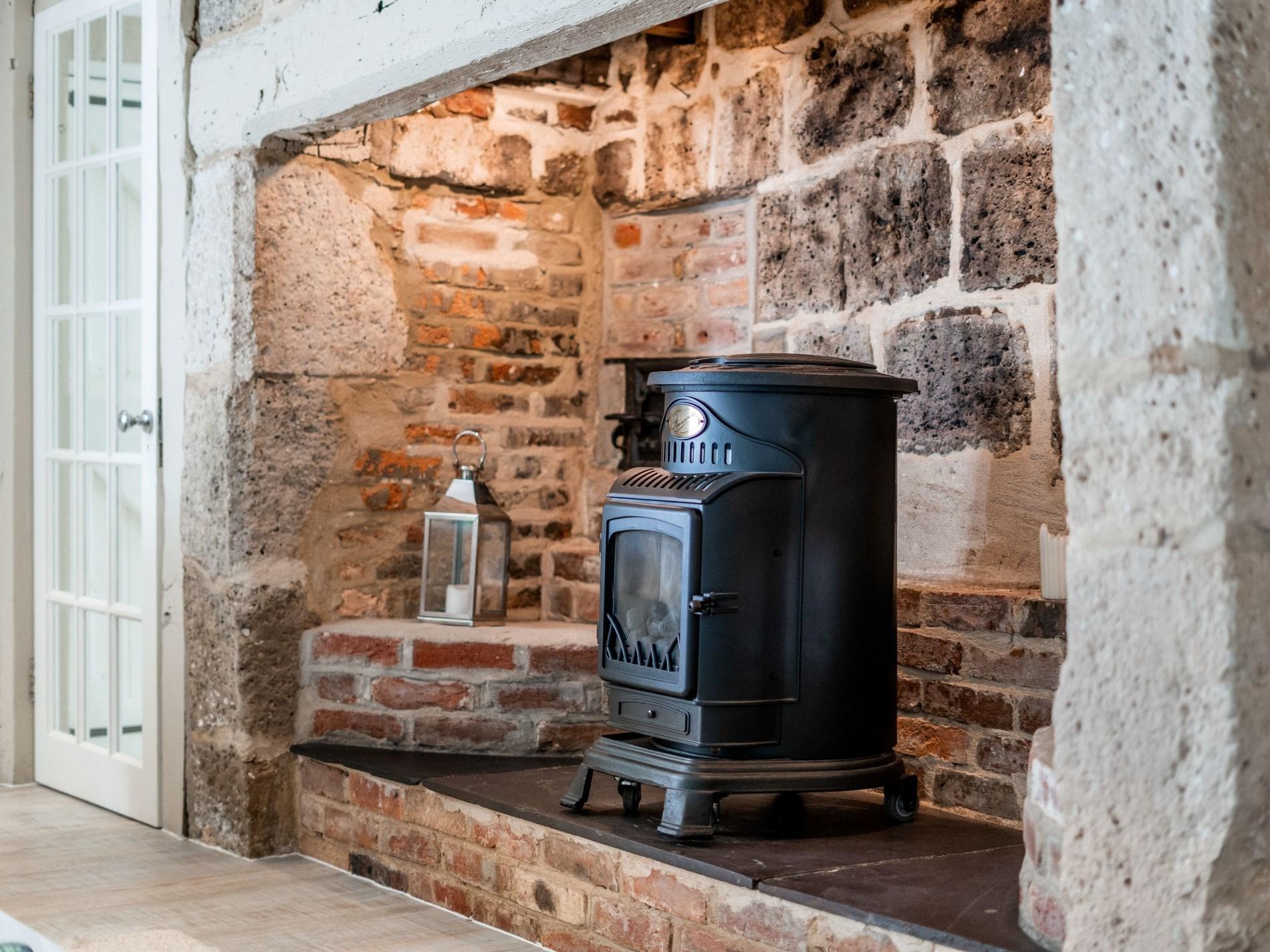 Beautiful inglenook fireplace