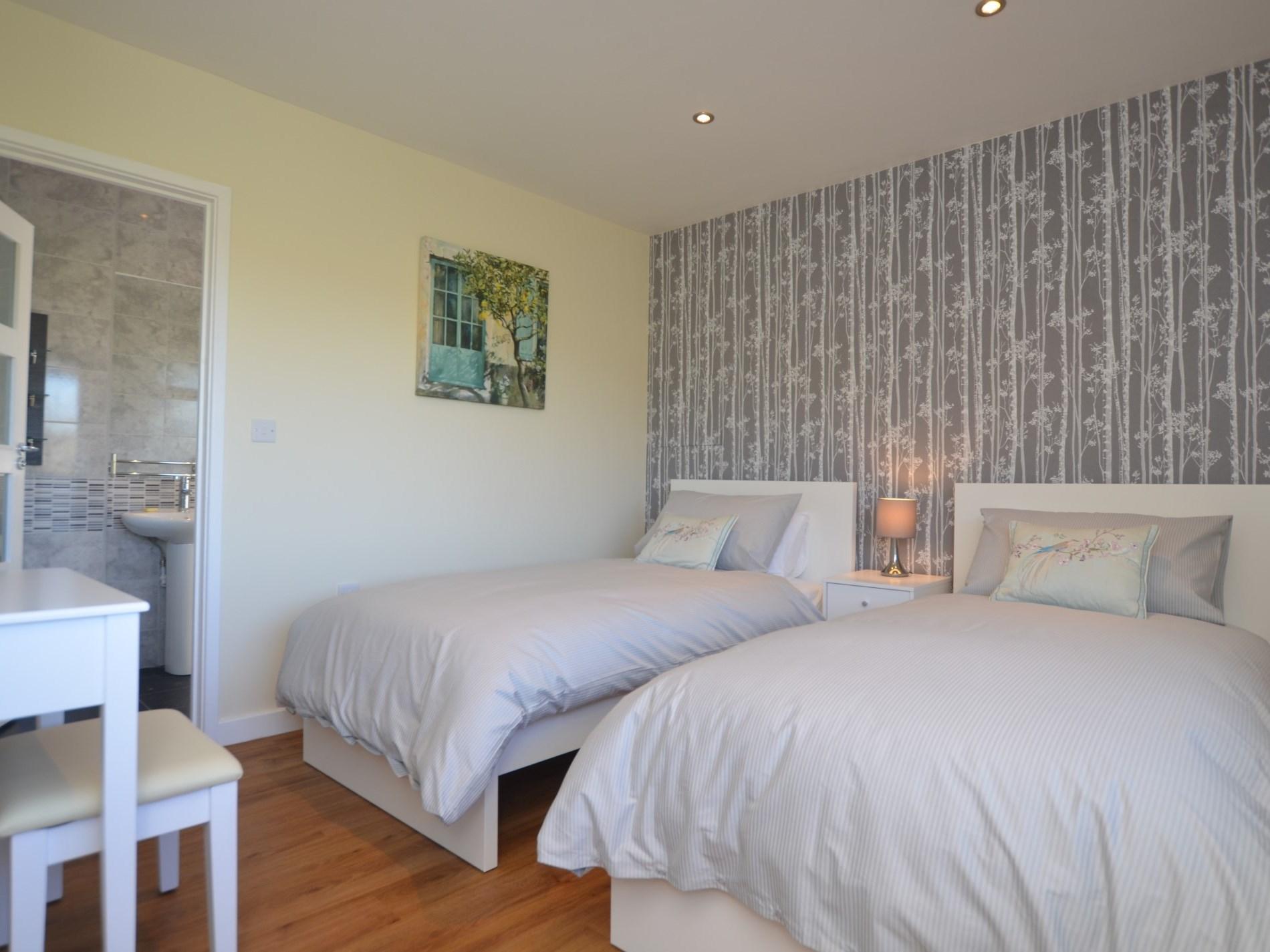Delightful twin bedroom
