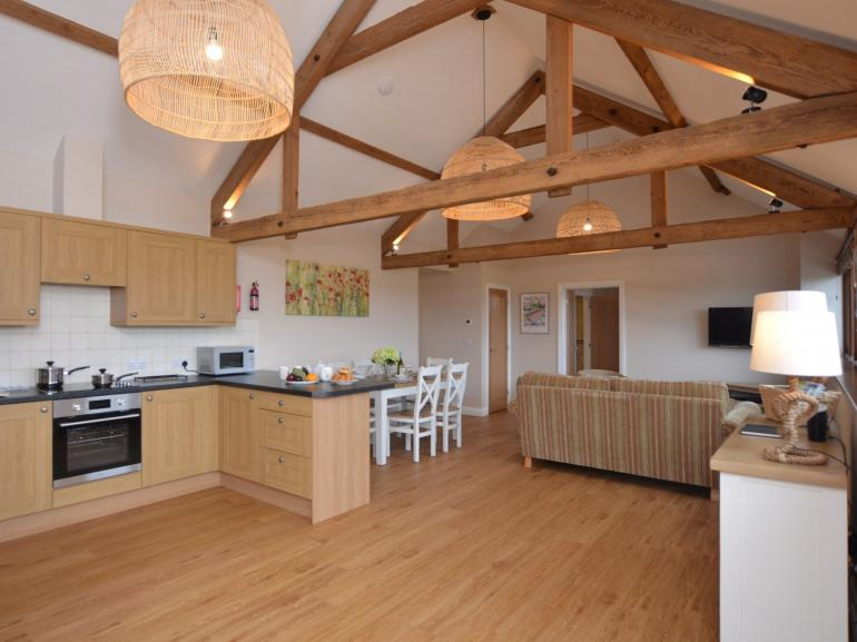 Stunning open-plan lounge/kitchen/diner