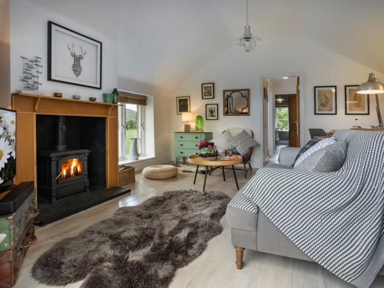 Cosy up with the wood burner