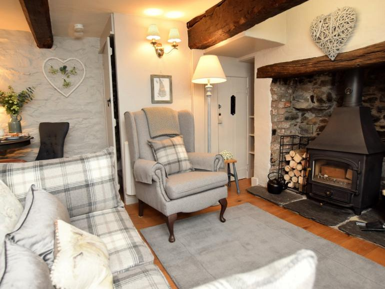 Cosy up by the log burner