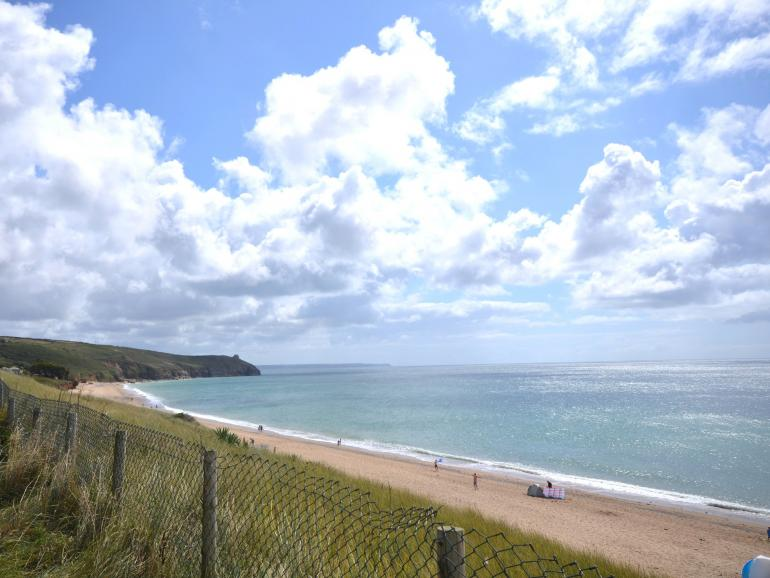 This beachside holiday home is just moments from stunning Praa Sands beach