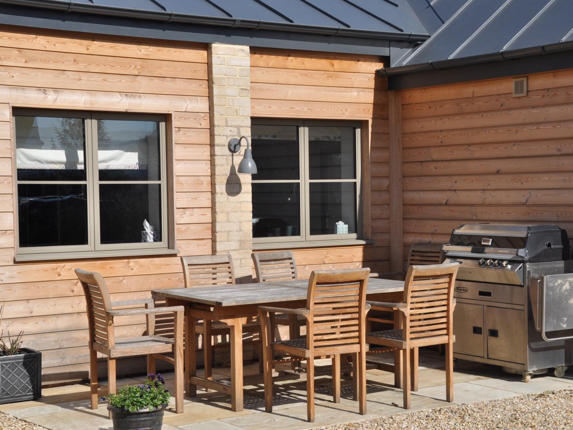 A great space for dining alfresco