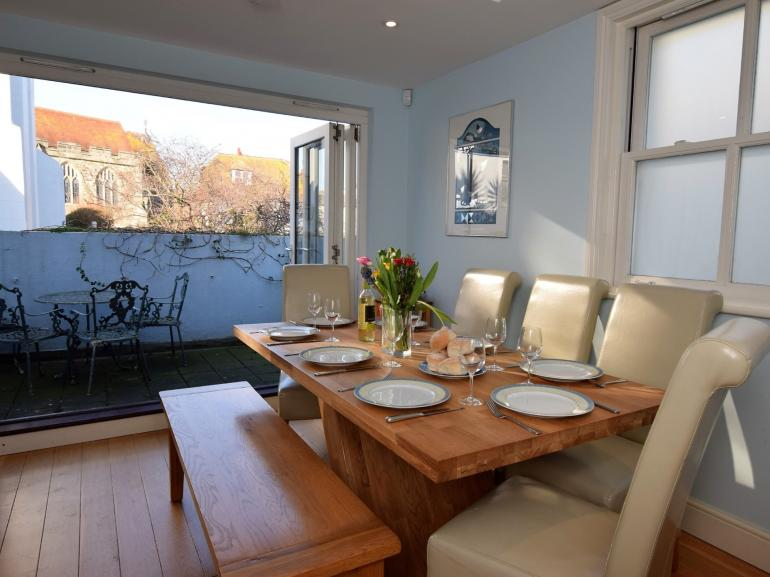 Enjoy family meals in the dining room