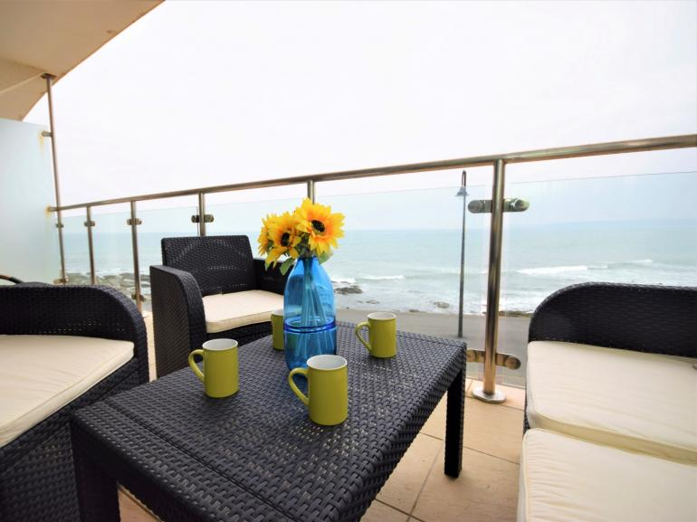 Private Balcony with Stunning Views