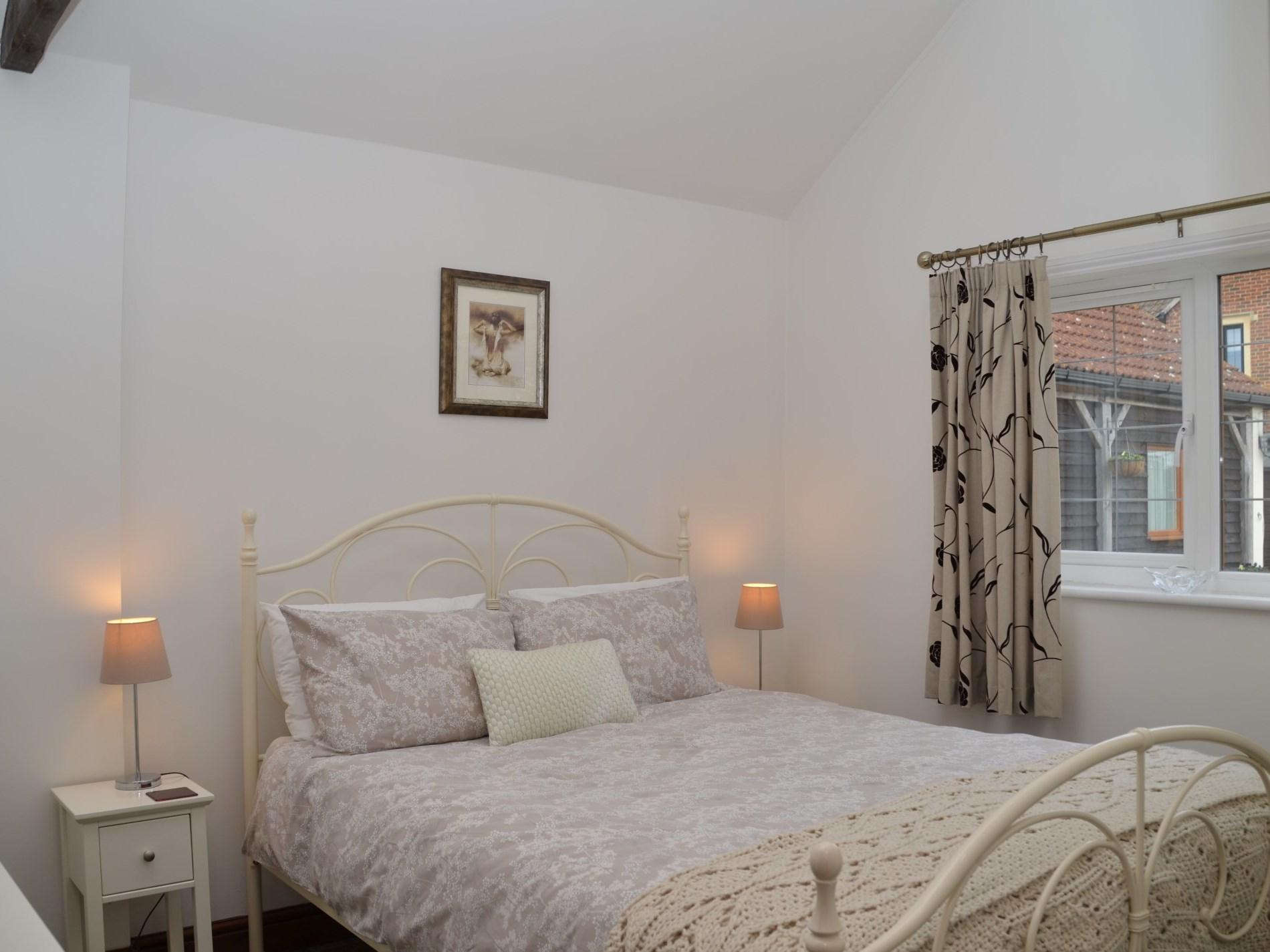 Stylish king-size bedroom