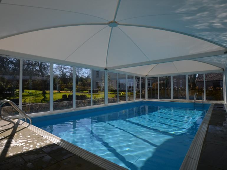 Exclusive use of indoor heated pool